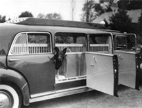 Mrs. Geraldine Rockefeller Dodge's Cadillac for Dogs